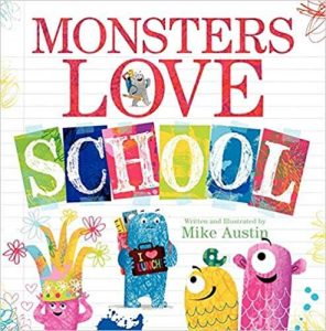 Hilarious Back to School Picture Books_Monsters Love School