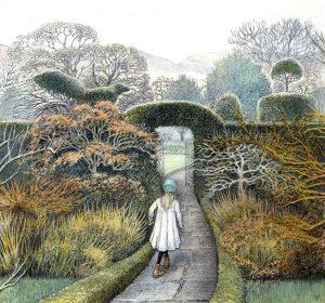 Review of The Secret Garden illustration