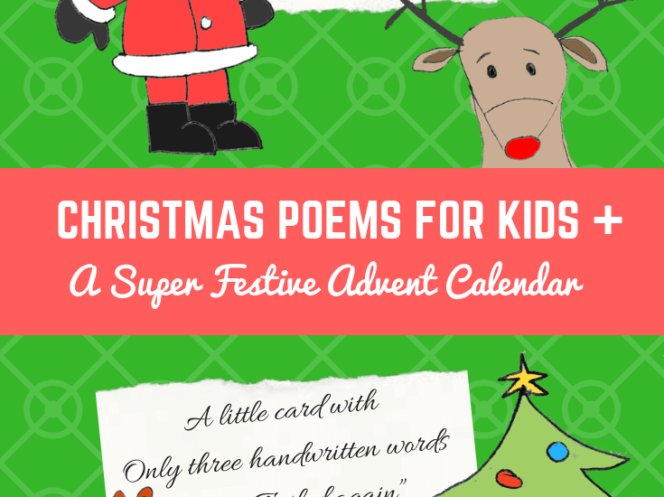 Christmas Poems for Kids And A Super Festive Advent Calendar