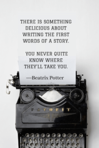 Quotes about Writing beatrix potter