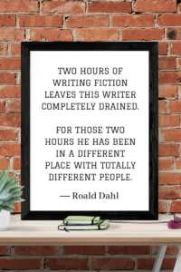 Quotes about Writing roald dahl