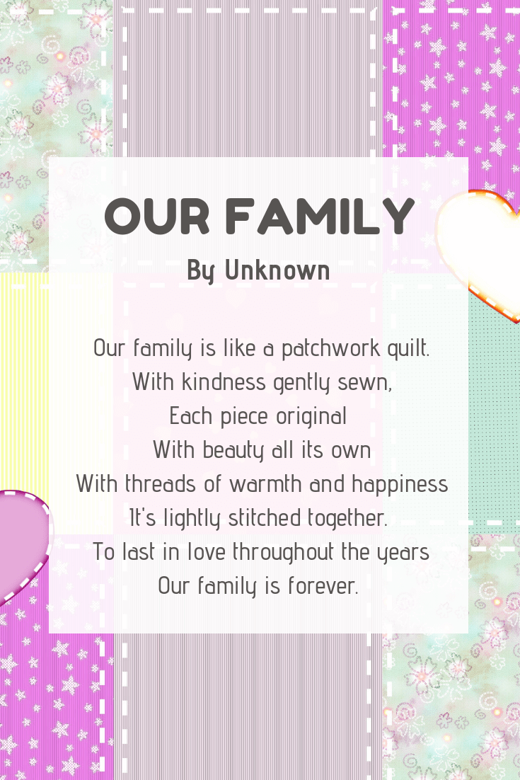 our family poem - Imagine Forest