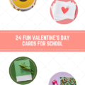 24 Valentines Day Cards for School