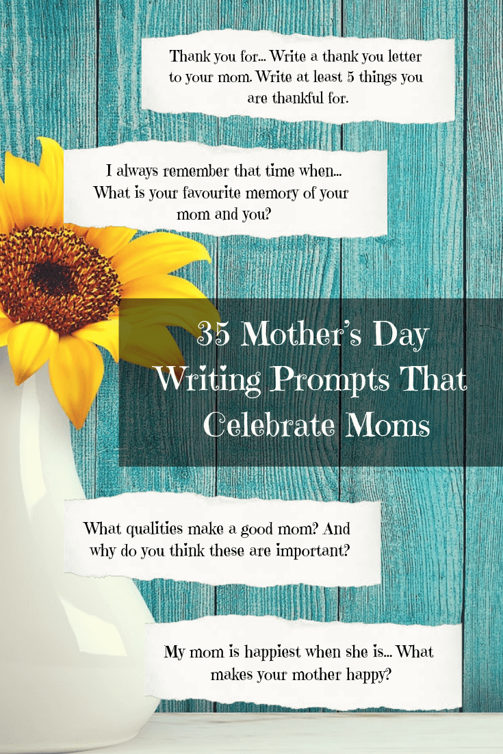 5abf0b4d129 35 Mother's Day Writing Prompts That Celebrate Moms | Imagine Forest