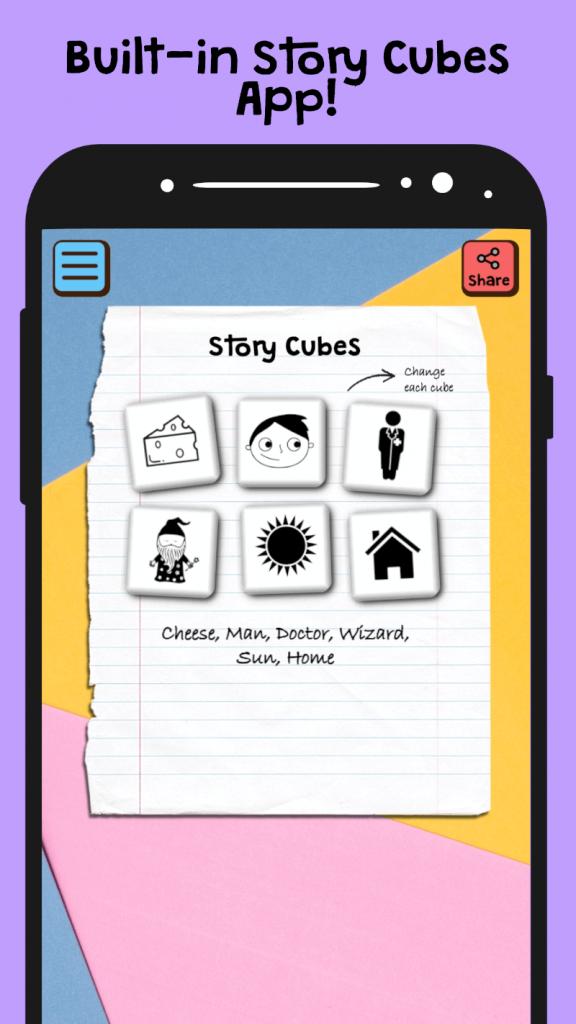 story cube app