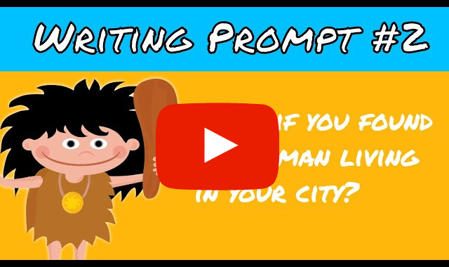 Caveman video prompt on Youtube