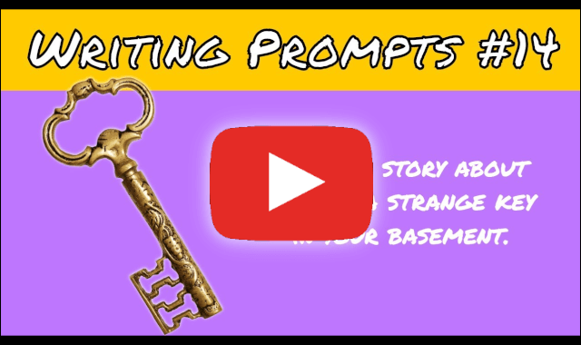 video writing prompts strange key