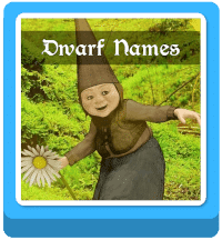 dwarf names generator button
