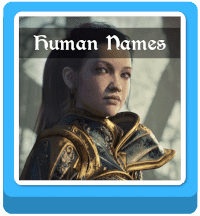 fantasy human names generator button