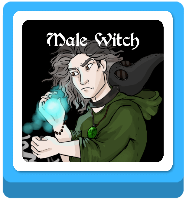 male witch names