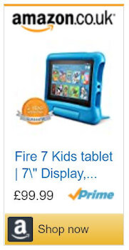 Amazon Fire Tablet for Kids